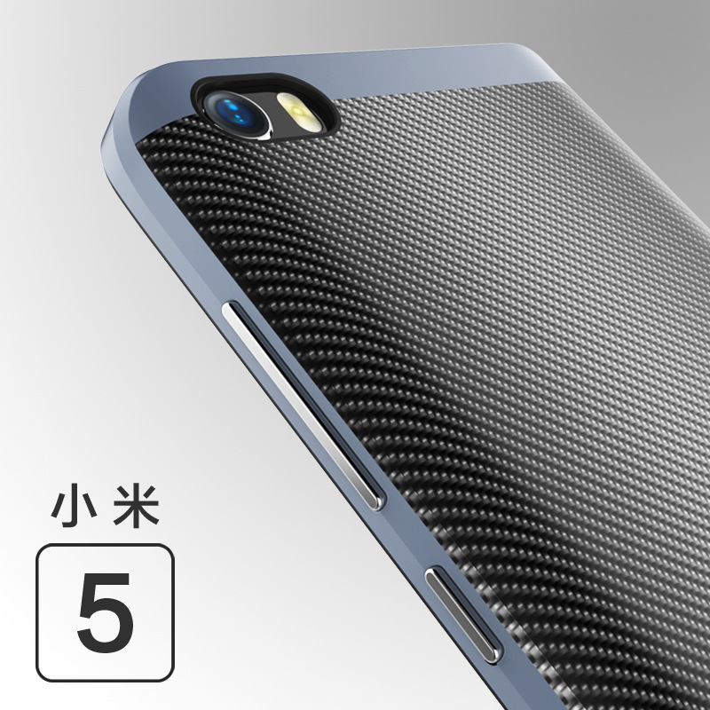 Case For Xiaomi MI 5 4S luxury TPU + PC Silicone Cover Full Protection Cases Frame Shell Mi5 Original Mobile phone Accessorie