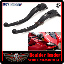 Black Motorbike Motorcycle Left Right Brake Clutch Levers For DUCATI DIAVEL / CARBON MULTISTRADA 1200/S