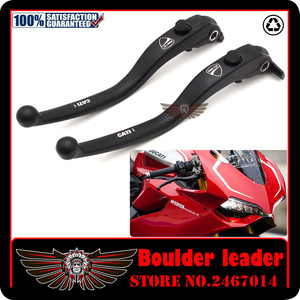 Image 1 - Black Motorbike Motorcycle Left Right Brake Clutch Levers For DUCATI DIAVEL / CARBON MULTISTRADA 1200/S