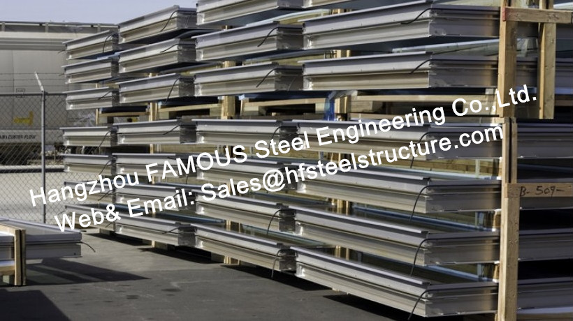 Structural Aluminum Framed Glass Facade Unitized Curtain Wall System With Low-E Coating Film Insulation
