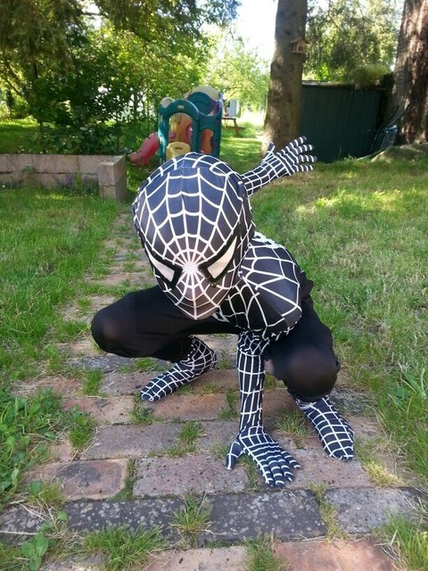 Spidermann anzug fur kinder