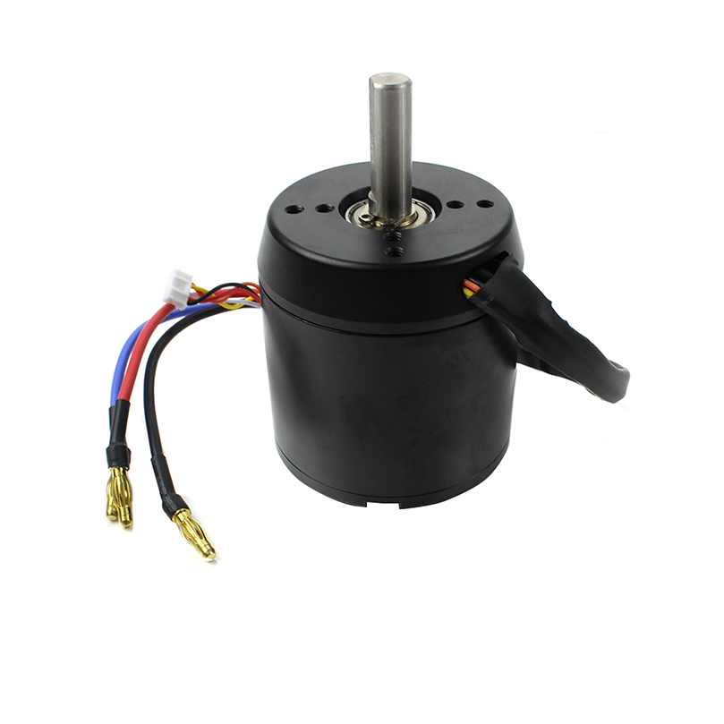 High Efficiency 6374 170KV Brushless Motor 2800W 24V 36V w Motor Hall for Four Wheel Balancing Scooters Electric Skateboards in Parts Accessories from Toys Hobbies