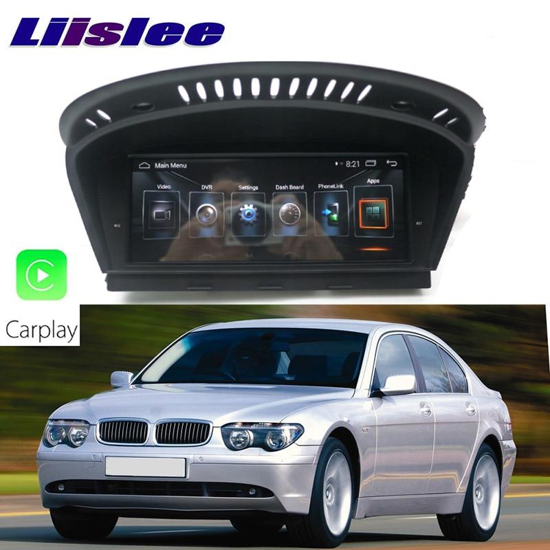 LiisLee Car Multimedia GPS Audio Hi Fi Radio Stereo For BMW 7 Series E65 E66 2002~2008 Original CCC Style Navigation NAVI