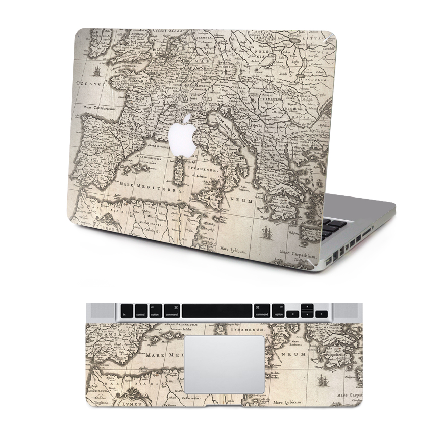 Dallowaycabin new fashionable world map series laptop protective dallowaycabin new fashionable world map series laptop protective vinyl sticker decal for macbook 11 12 13 15 inch in laptop skins from computer office on gumiabroncs Gallery