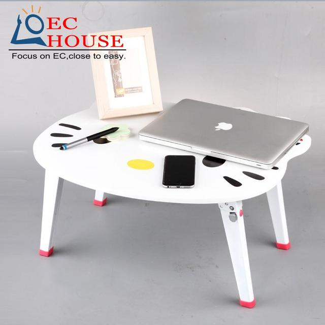 notebook comter bed with foldable large dormitory cartoon lazy table learning desk FREE SHIPPING