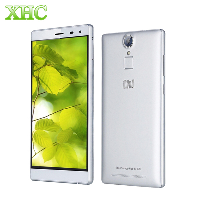 Оригинал THL T7 Смартфон 16 ГБ 4 Г 4800 мАч Идентификации Отпечатков Пальцев 5.5 ''Android 5.1 MT6753 Окта основные 1.3 ГГЦ RAM 3 ГБ Dual SIM