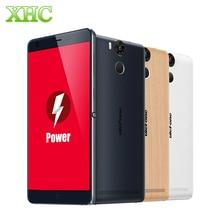 """Original ulefone power 4g fdd-lte 16 gb 5,5 """"6050 mah ltps android 5.1 smartphone mtk6753 64-bit octa-core 1,3 ghz ram 3 gb geschenk"""