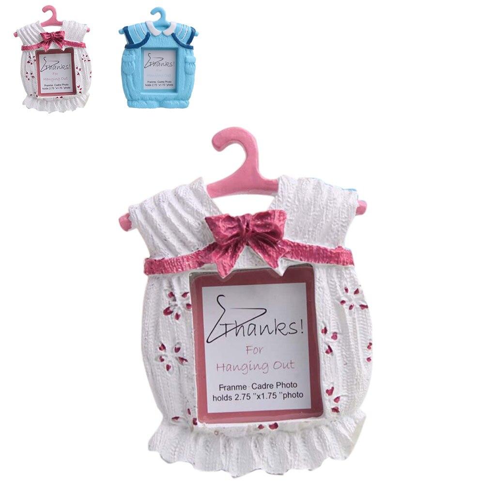 Baby Kleidung Form Schöne Bilderrahmen Neugeborenes Foto Rahmen ...