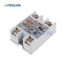 Solid State Relay Module SSR-25AA SSR-25 AA SSR 25A 80-250VAC Input to 24-380VAC Output Industry Control стоимость