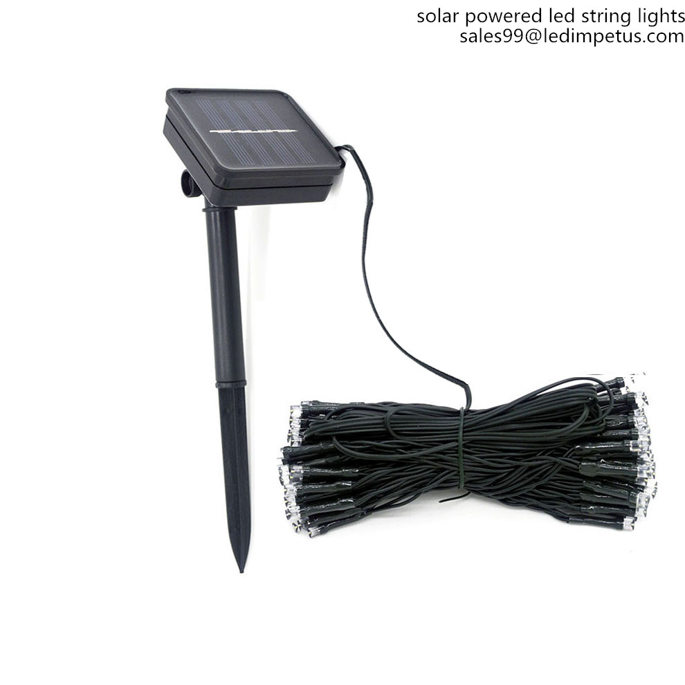 Top 100 LED solar power outlet for christmas light 10PCS 2018 happy ...