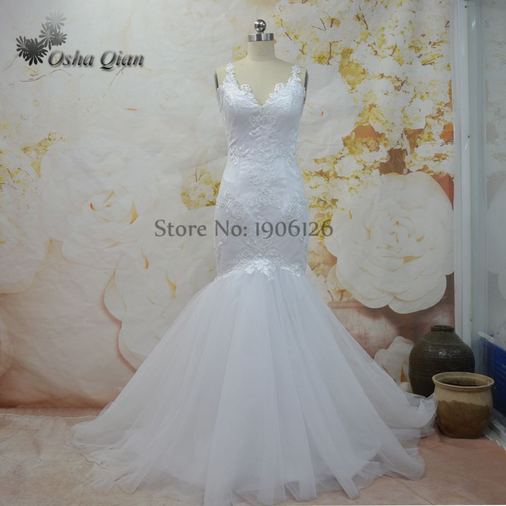 Cheap Wedding Dresses Made In China Mermaid Lace Bridal Gowns Low ...