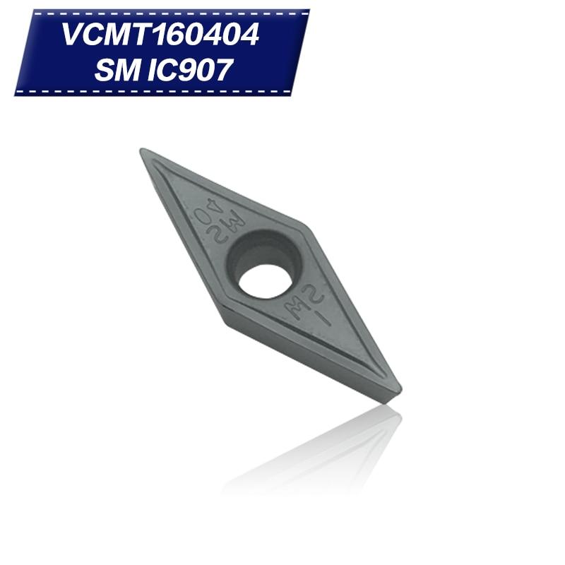 50 عدد ابزار عطف داخلی VCMT160404 SM IC907 - ماشین ابزار و لوازم جانبی