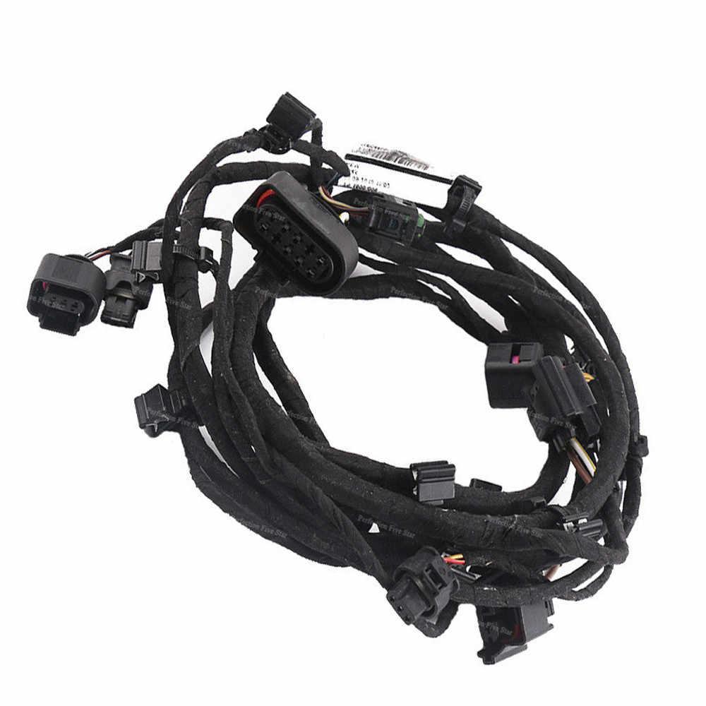 medium resolution of  4l0971095q for audi q7 2007 2008 2009 front bumper engine control module wiring harness