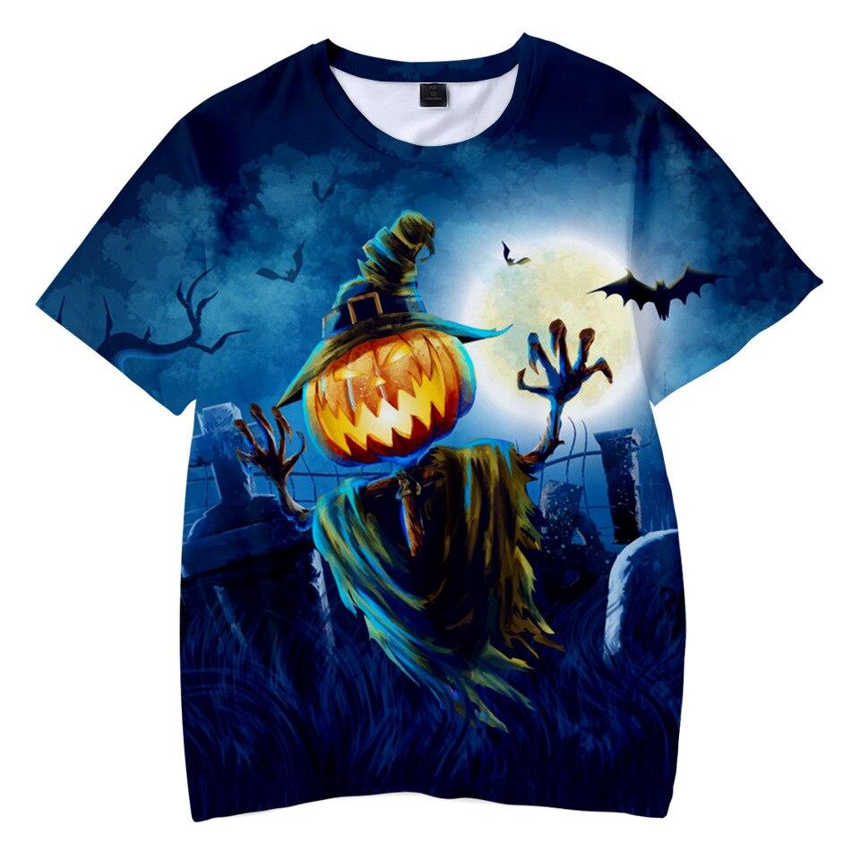 Boy T-shirt kids clothes Halloween party costume 3D digital printing
