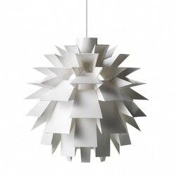 Nowy nowoczesny Simon Karkov normy 69 współczesny biały PP lampa wisząca oprawa oświetleniowa w Wiszące lampki od Lampy i oświetlenie na