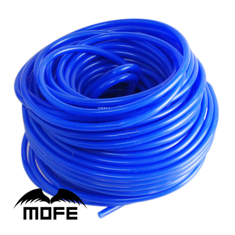Mofe Car Silicone Vacuum Hose 5meter 3mm/5mm Vacuum Pipe Vacuum Silicone Hose Tube Pipe Four Colors