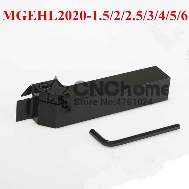 1PCS MGEHL2020-1.5 MGEHL2020-2 MGEHL2020-2.5 MGEHL2020-3 MGEHL2020-4 MGEHL2020-5 MGEHR2020-2 Lathe External Turning Tool Holder
