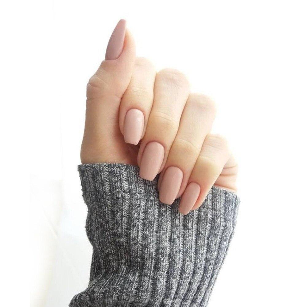 Fashion Fake Nails 500pcs Press On French Cover Full Tips Art ...