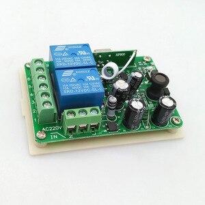 Image 5 - Радиочастотный переключатель, беспроводной дистанционный контроллер постоянного тока, 12 В, 433 МГц, релейный модуль приемника, 2 стороннее управление, 2NO + 2NC для линейного привода двигателя