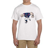 JJ WATT 100% cotton t shirts Mens boyfriend gift cartoon T-shirts for HOUSTON fans 0216-3