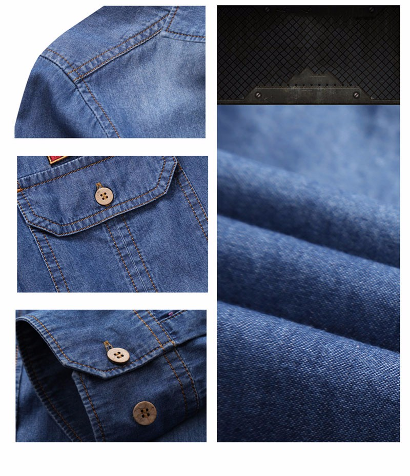 MEN DENIM SHIRTS (12)