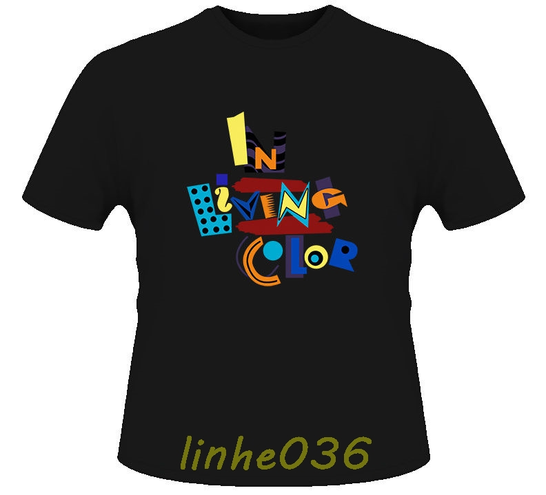 In Living Color 90s Tv Show T Shirt 2018 New Pure Cotton Short Sleeves Hip Hop Fashion Mens T-Shirt Fashion Men T Shirt image