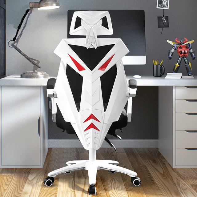 Gaming Chair Multi-function Lifting Office Boss Chair Lying Rotation Computer Chair with Waist Pillow Footrest Cadeira Gamer