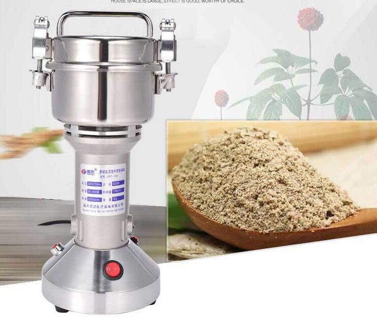 Chinese Medicine Crushing Machine Small-size Cereals Grinder Food Seasoning Grinding Machine DFT-150 цена и фото