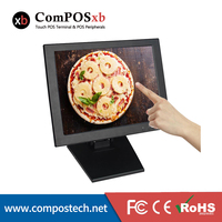 Low price 15 inch touch diaplay Price 15 inch LED POS touch screen Monitor USB display computer monitor
