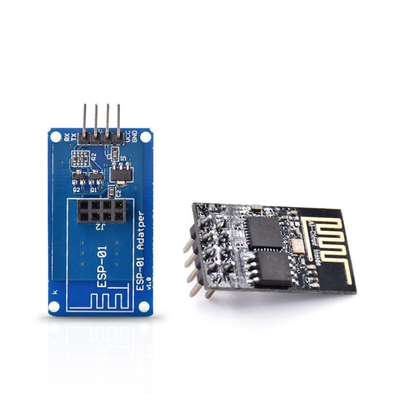 ESP8266 ESP-01 WIFI Transceiver Wireless Module With Adapter Module
