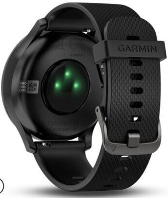 46ec47f467f Garmin vivomove HR freqüência cardíaca eletrônico de monitoramento  inteligente de moda à prova d  água clássico das mulheres dos homens do  esporte da ...