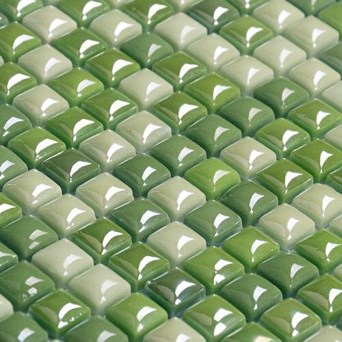 Grün Mosaik Fliesen Werbeaktion-Shop für Werbeaktion Gr&uuml ...