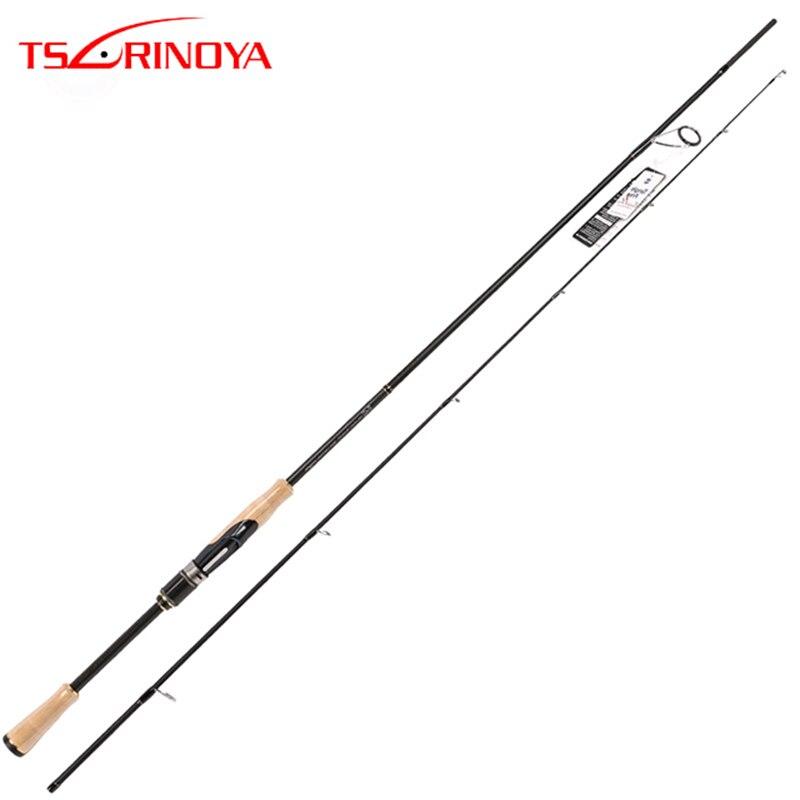 TSURINOYA PROFLEX II Fiação Vara De Pesca 2.01 m 2.13 m 2 Seção Fiação Haste ML/M Poder Canne A peche Vara De Pesca De Carbono