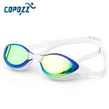 все цены на Men Women Swim Glasses Anti Fog UV Protection Adjustable Adult Swim Eyewear Professional Electroplate Leakproof Swimming Goggles онлайн