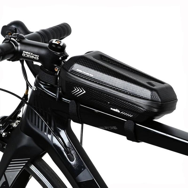 Waterproof Bike Bag Bicycle Frame Front Head Top Tube Bag Cycling Large Capacity MTB Road Storage Bag Bike Accessories коробка для мушек на трубках snowbee waterproof tube large