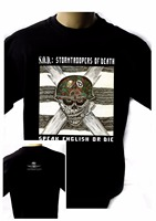 Summer Tops Tees T Shirt  Top O-Neck Short-Sleeve Mens S.O.D. Stormtroopers Of Death'85 Black T Shirt