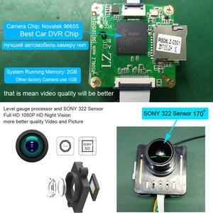 Image 4 - XCGaoon Wifi 170 תואר רכב DVR מקליט וידאו מצלמת וידאו דאש מצלמה 1080P לילה גרסת Novatek 96655 להשתמש SONY 322 חיישן