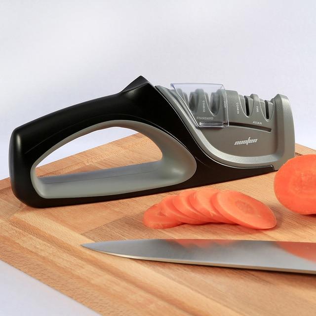 Фото risamsha прямая поставка кухонная 4 ступенчатая точилка для