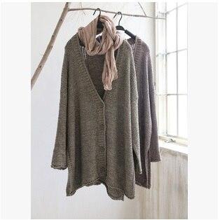 Autumn/winter 2015 new product, the original design loose big yards women knitting a sweater