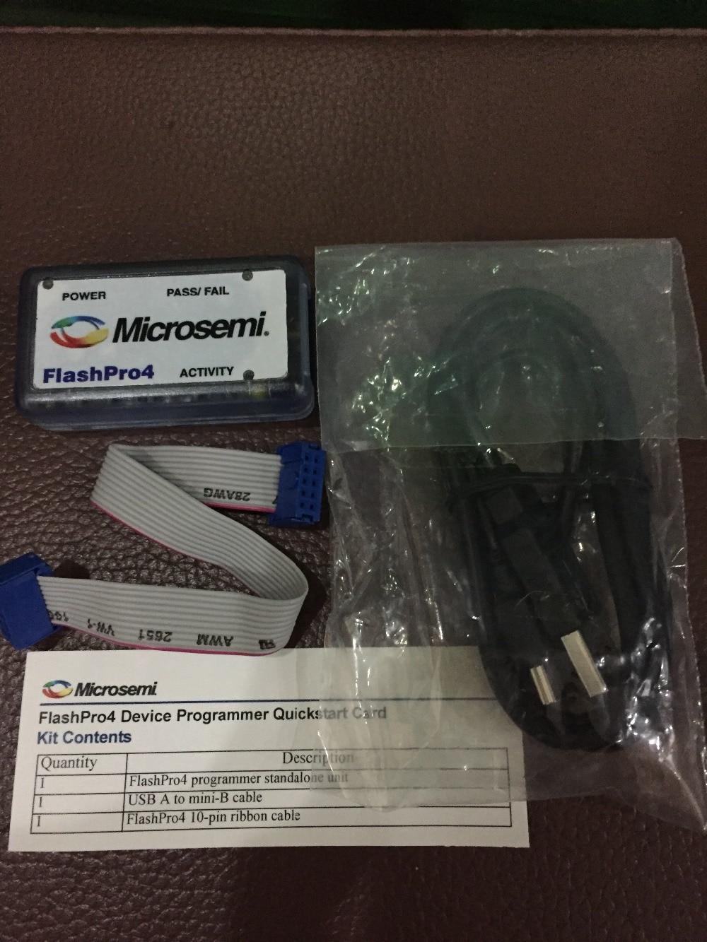 Microsemi Burner FlashPro4 Original Imported FPGA Simulator Flash Programming Downloader
