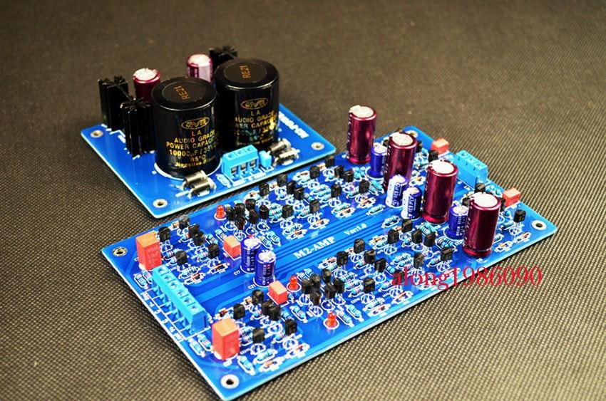 Assembled M2 Full discrete Preamplifier board base on SC-7S2 Circuit assembled upgraded n5 preamplifier board hifi amp board with 2134 opa