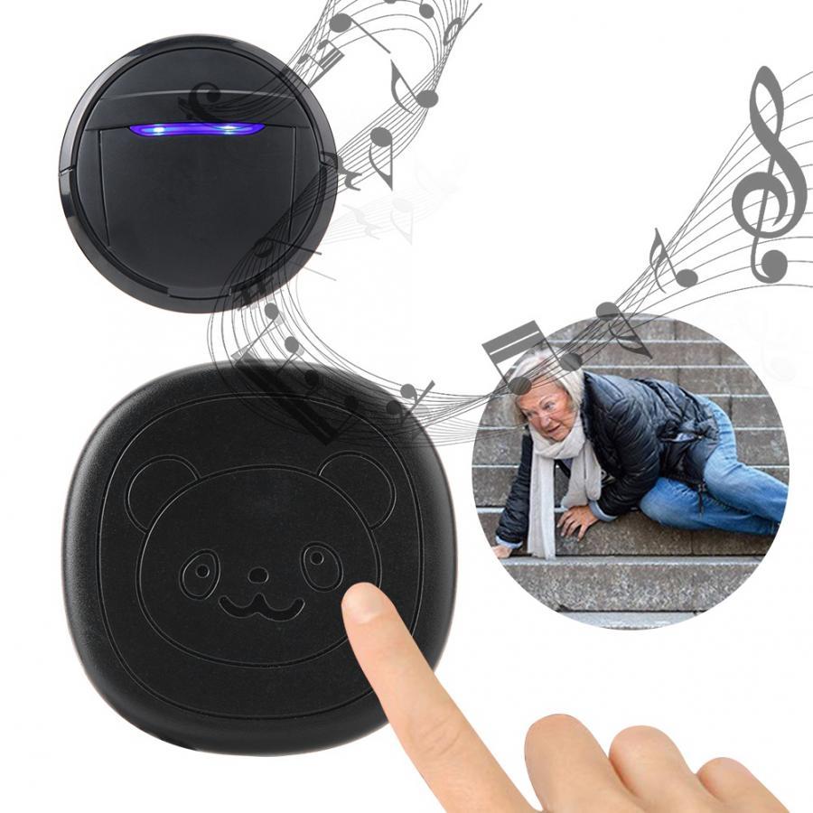 Wireless Waterproof Touch Button Alarm Pet Dog Training Door Bell Emergency SOS Caller Smart Doorbell 0-110dB 5 Level Adjustable-0