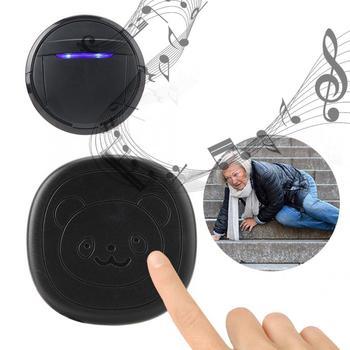 Wireless Waterproof Touch Button Alarm Pet Dog Training Door Bell Emergency SOS Caller Smart Doorbell 0-110dB 5 Level Adjustable