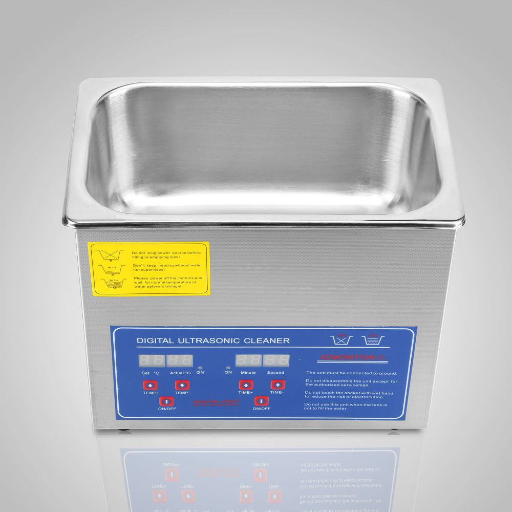 Vevor JPS 20A 3l profissional digital ultra sônico jóias líquido de limpeza - 5