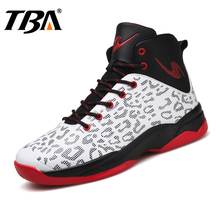 TBA Men's Sports Basketball Shoes High Top Gym Training Boots Male High Quality Ankle Basketball Shoes Classic Outdoor Sneakers