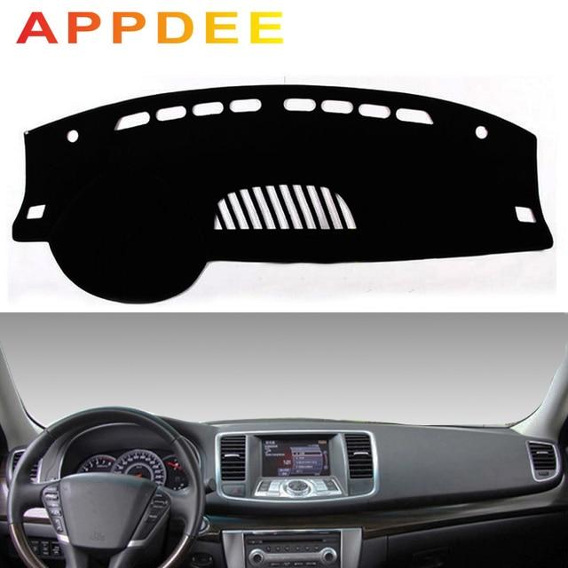 APPDEE For Nissan Teana J32 2008 2013 Car Styling Covers Dashmat Dash Mat Sun Shade Dashboard Cover Capter 2009 2010 2011 2012