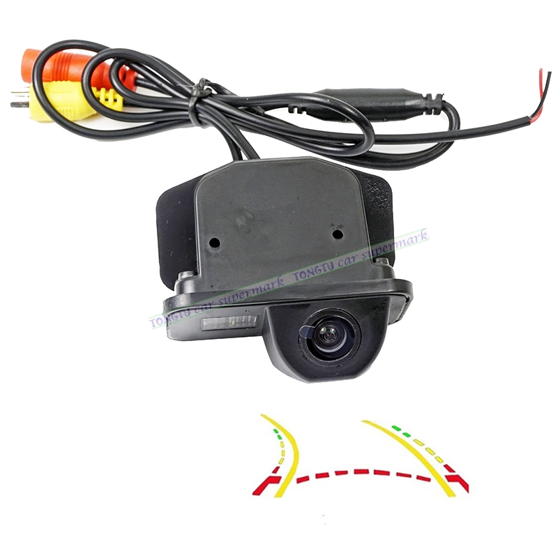600L Dynamic Trajectory Reverse Backup Rear View Camera For Toyota Corolla Auris Avensis T25 T27 Vehicle Tracks Parking Camera