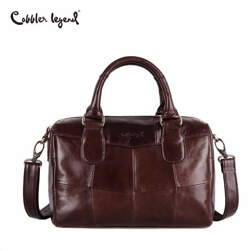 Cobbler Legend Luxury Handbags Designer Women Bags Genuine Leather Handbags Solid High Quality Tote Bag for Women Ladies Bags-in Top-Handle Bags from Luggage & Bags    1