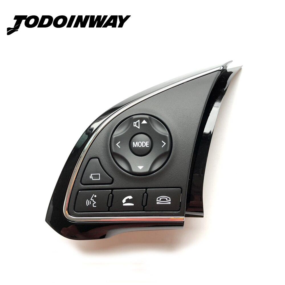 Commutateur De volant Bouton Audio Volume Bluetooth Commutateur Bouton Caméra Fonction Pour Mitsubishi Outlander 2016-2018 Xpander