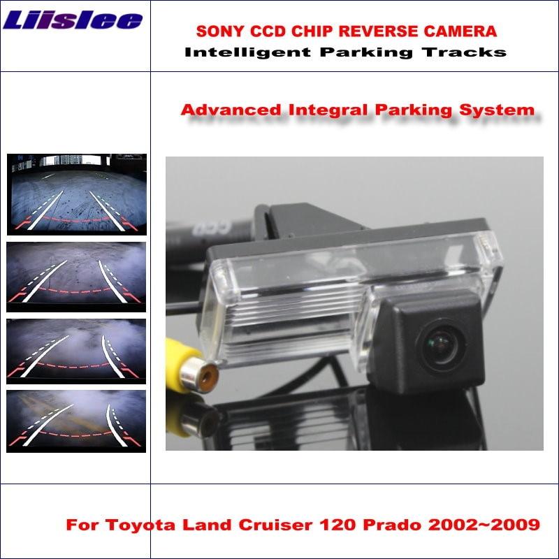 HD 1280x720p Golden Camera for Toyota Reiz Land Cruiser LC100 LC200 LC120 Prado Prius Mark X GRX120,3nd Generation Camera Rear View Reversing Backup Camera Night Vision Waterproof Backing Camera